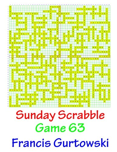 Sunday Scrabble Game 63 PDF