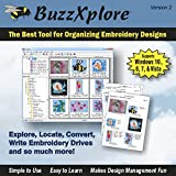Software : BuzzXplore v2 Premier Embroidery Design Management