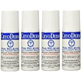Cryoderm 3 Oz. Roll-On 4-PACK by Cryoderm