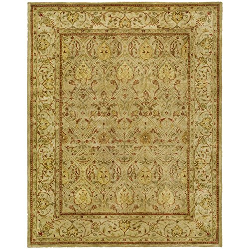Safavieh Persian Legend Collection PL819G Handmade Traditional Moss and Beige Wool Area Rug (12
