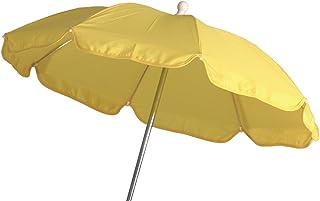 Schirm für Kinderwagen 60 cm gelb