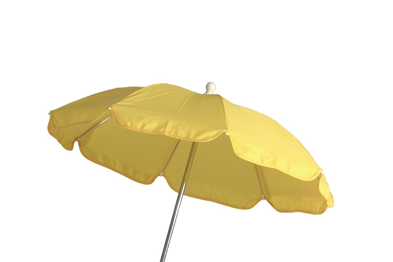 Schirm für Kinderwagen 60 cm gelb Haberkorn