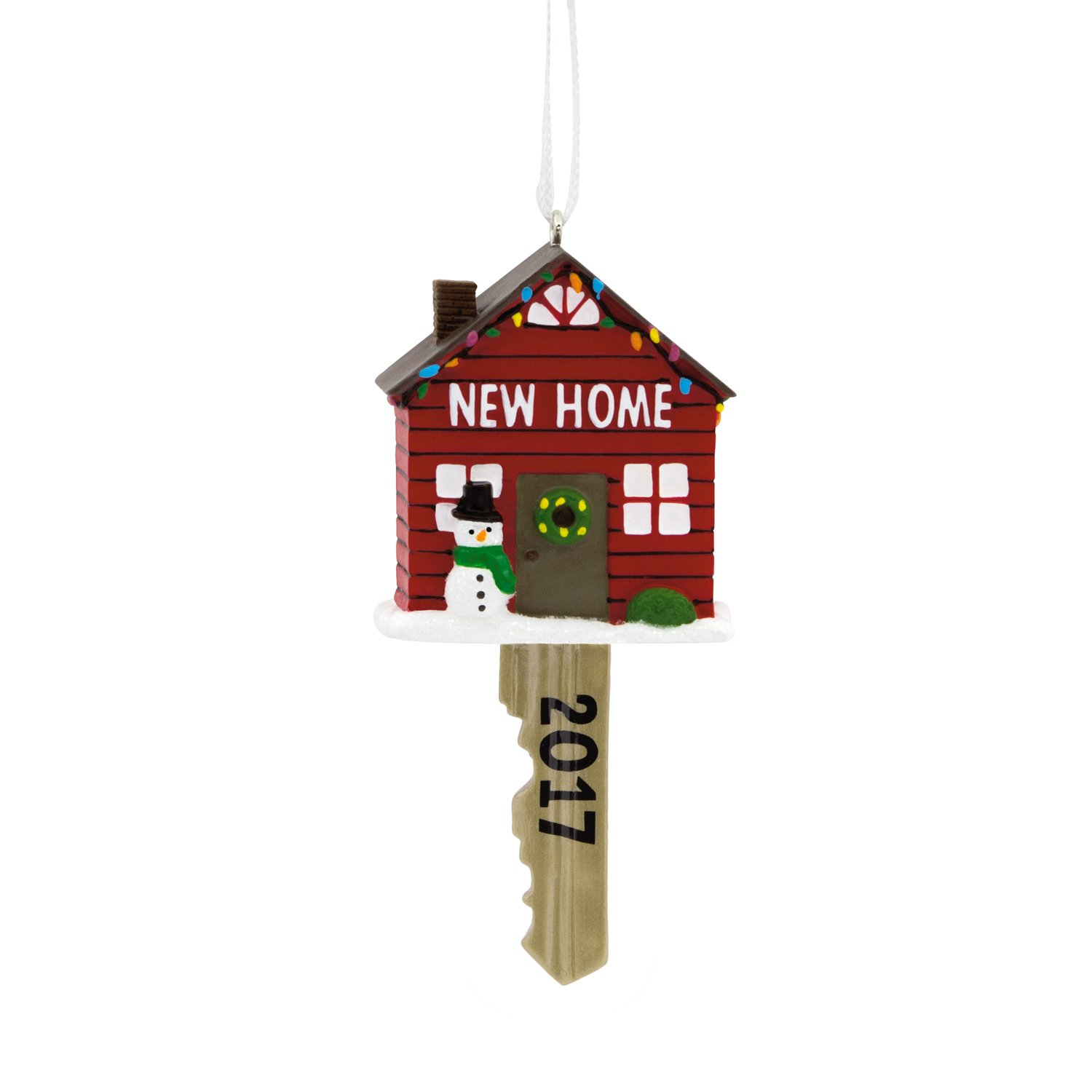 amazoncom hallmark new home 2017 christmas ornament home kitchen
