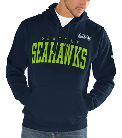 GIII Apparel Seattle Seahawks Men s Playing Field Pullover Sweatshirt  XX-Large 023305038