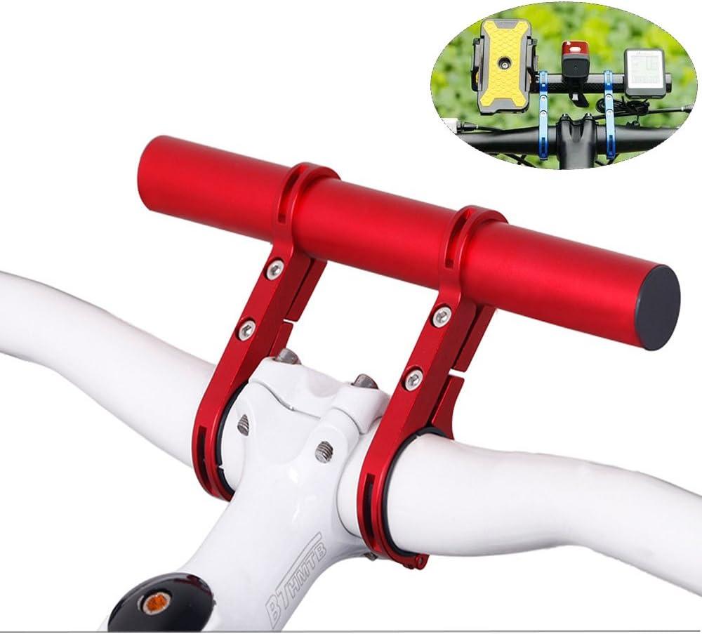20CM Fahrrad Taschenlampe Halter Lenker Fahrrad Zubehör Extender Halterung HS DE