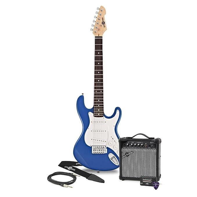 1 opinioni per Chitarra Elettrica LA 3/4 + Pacchetto Amplificatore Blue