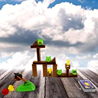 Toyswala Angry Bird Knock on Wood Game, Launch and Destroy Board Game