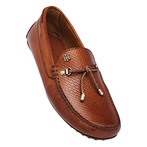 e93da5a0f Tommy Hilfiger Men s Tan Loafers-10.5 UK India (45 EU)(A7AMF154)  Buy  Online at Low Prices in India - Amazon.in