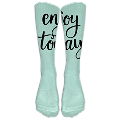 Enjoy Today Socks 3D Printing Long Knee High Socks Stockings