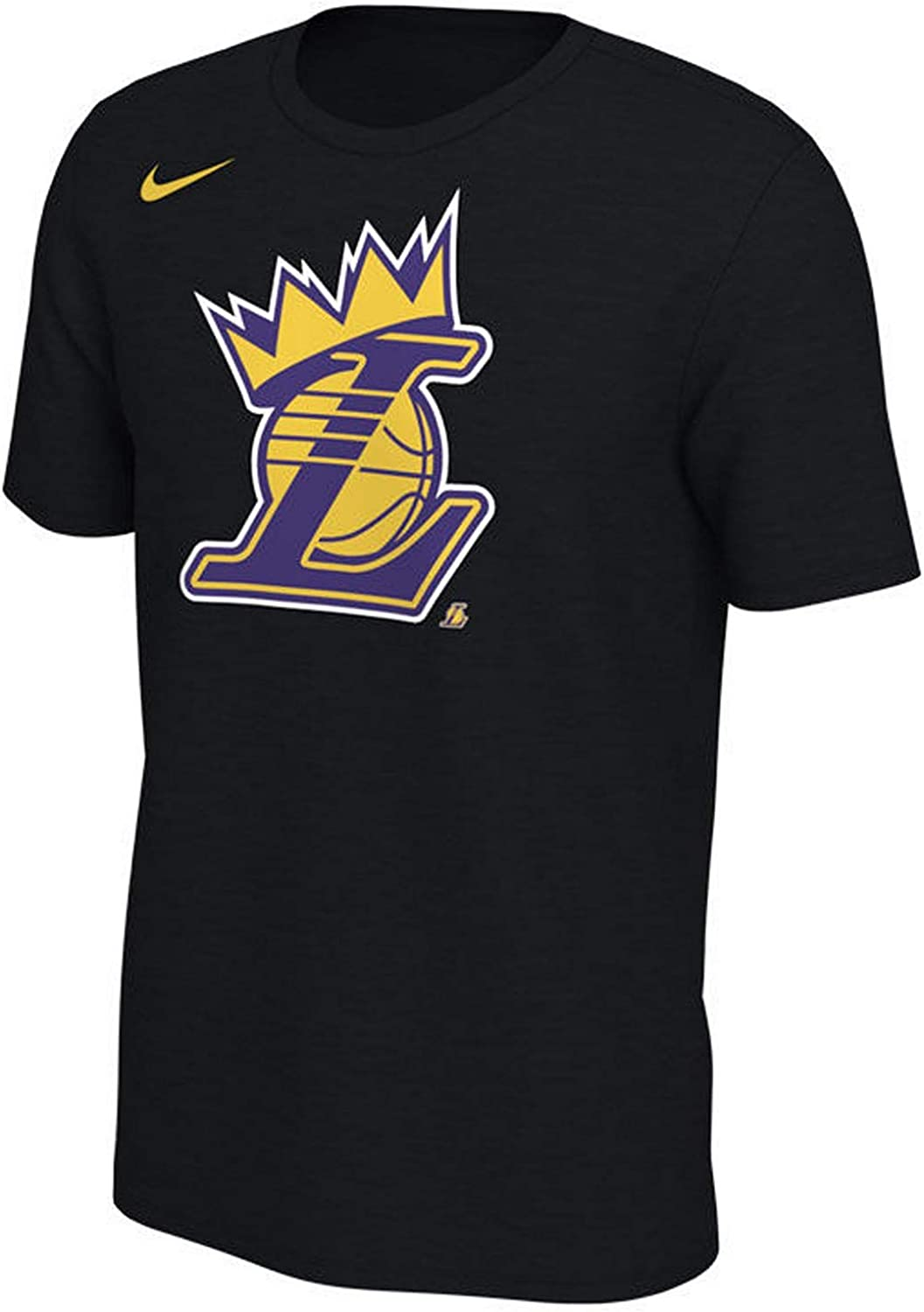 Nike Los Angeles Lakers NBA Just Do It Mezzo Dri-Fit T-Shirt Yellow