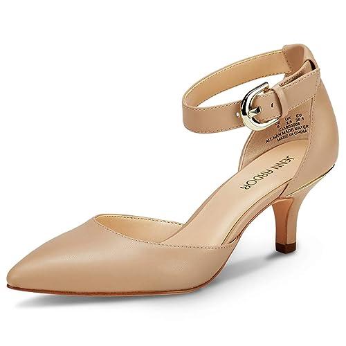 Femmes: chaussures 2019 Femmes Bout Pointu Escarpins Talon Bas Denim Sandales Chaussures De Loisirs Sandales