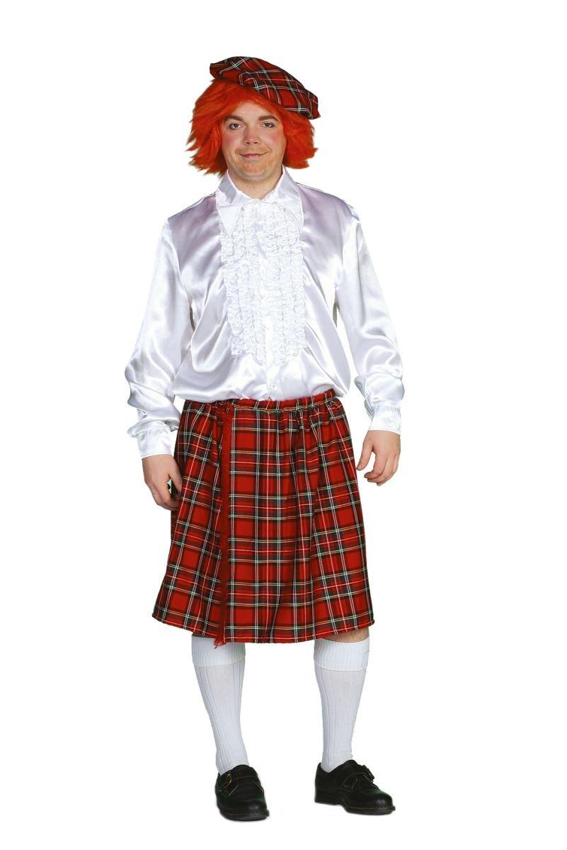 Disfraz de escocés para hombre Rock, 58 - 50 Gr.: Amazon.es ...