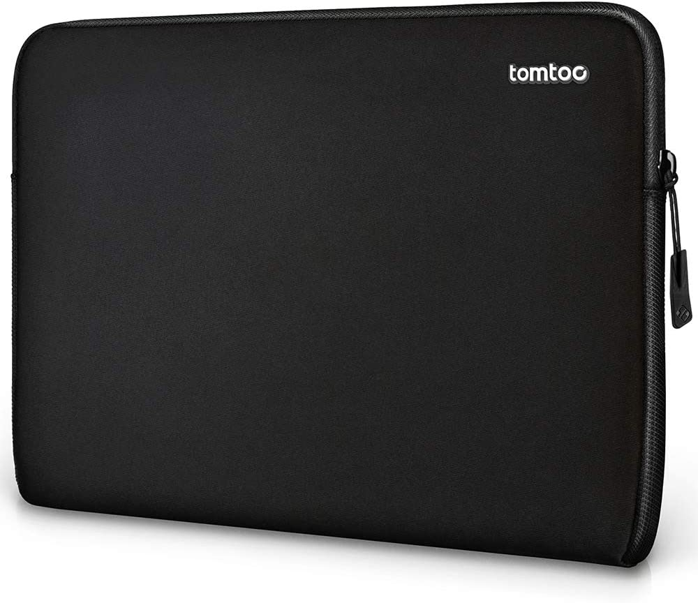 tomtoc Laptop Sleeve for 2020 New Dell XPS 15, 14 Lenovo ThinkPad X1 (1-4th Gen), 14 HP Acer Chromebook, 14 Dell Latitude, 15 Inch MacBook Pro A1990 A1707, Microsoft Surface Laptop 3 15 Inch