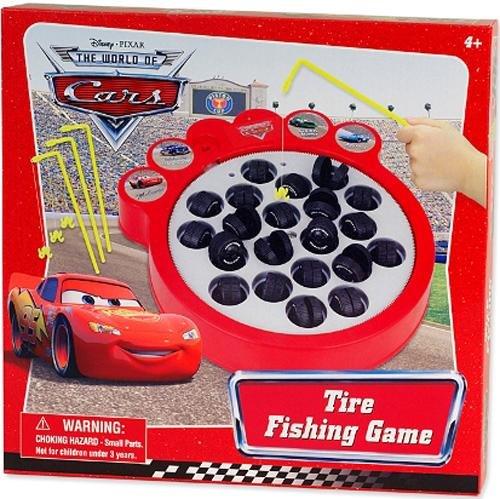 Tire Fishing Game - Disney Cars Tire Fishing Game