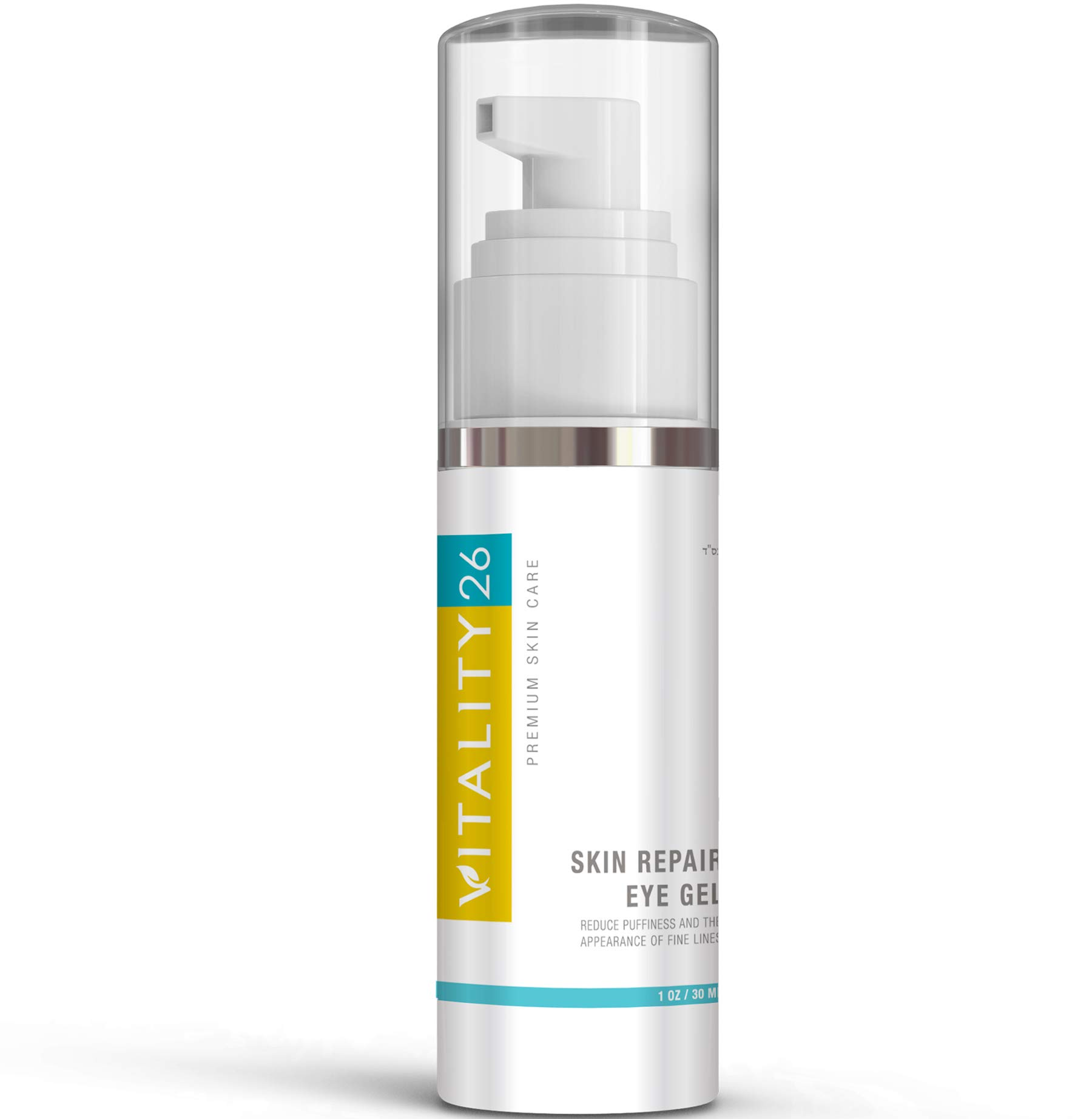 Vitality26 Dark Circle Eye Treatment - Under Eye Gel Reduces Bags and Puffiness Around Eyes - Made with Orange Sap, Avocado and Repair Complex - Premium Quality, Natural Ingredients