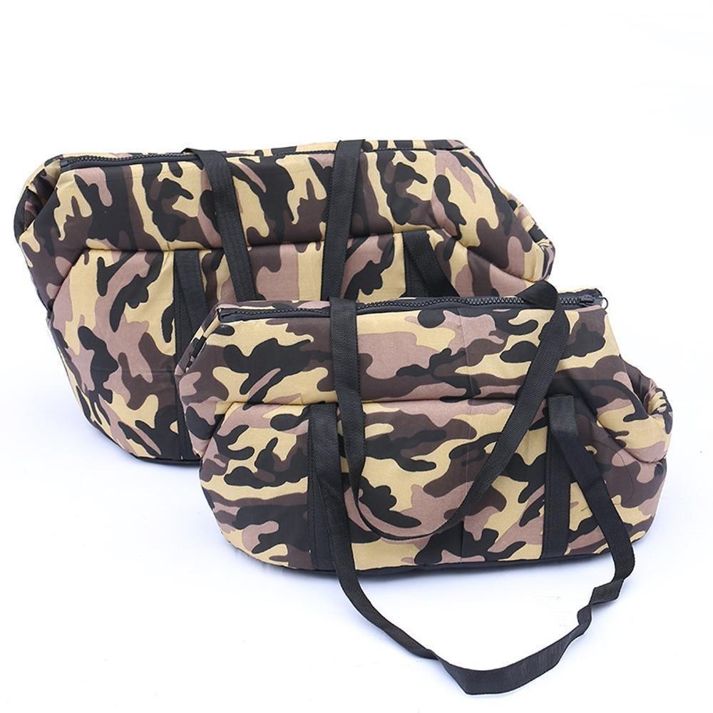 B 402528cm B 402528cm Daeou Pet Backpack Camouflage Portable Outdoor Portable Bag