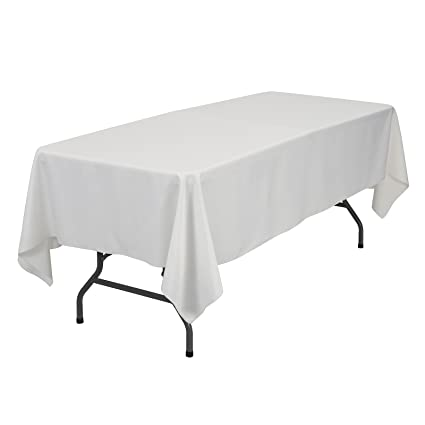 Prime Remedios Rectangle Tablecloth Solid Color Polyester Table Cloth For Meeting Table Wrinkle Free Dinner Tablecloth For Wedding Party Restaurant Download Free Architecture Designs Scobabritishbridgeorg