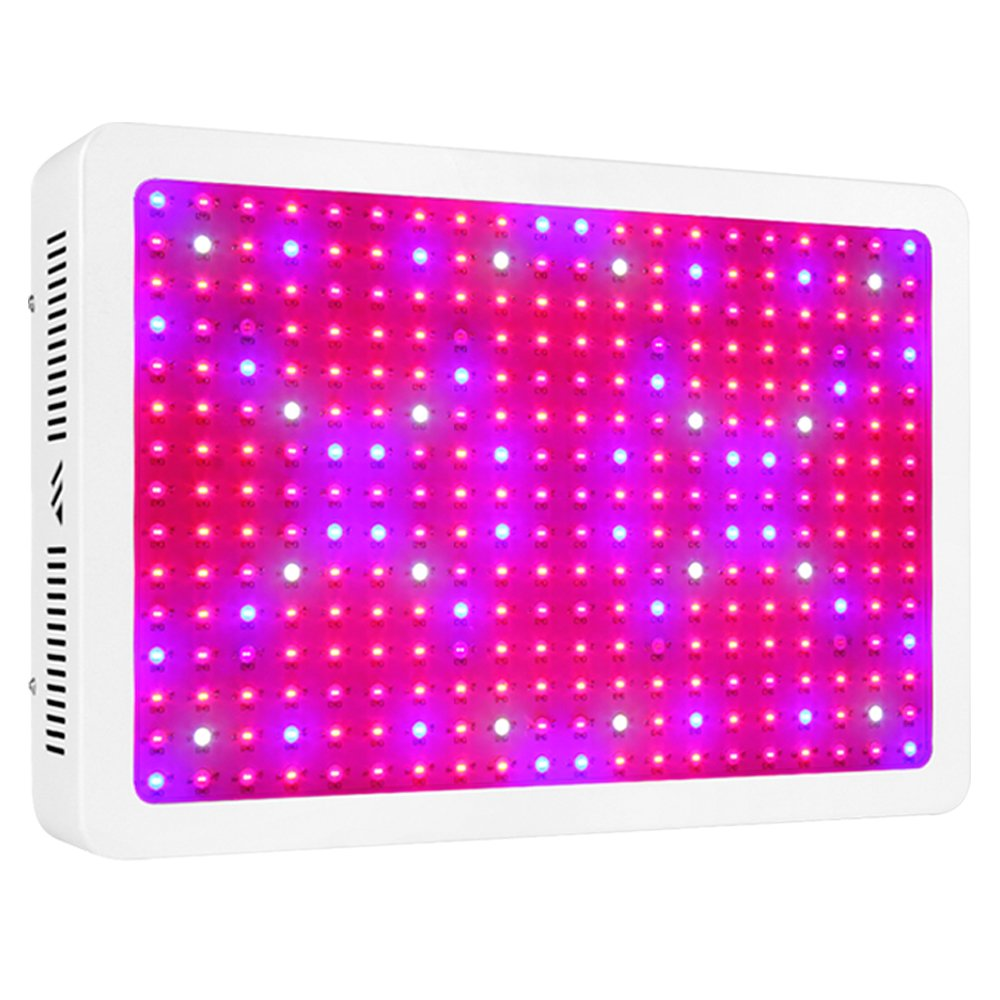 MORSEN LED Grow Light 3000W Full Spectrum Growing Light Fixtures for Indoor Plants Veg and Flower with Dual Dimmer On Off Switch