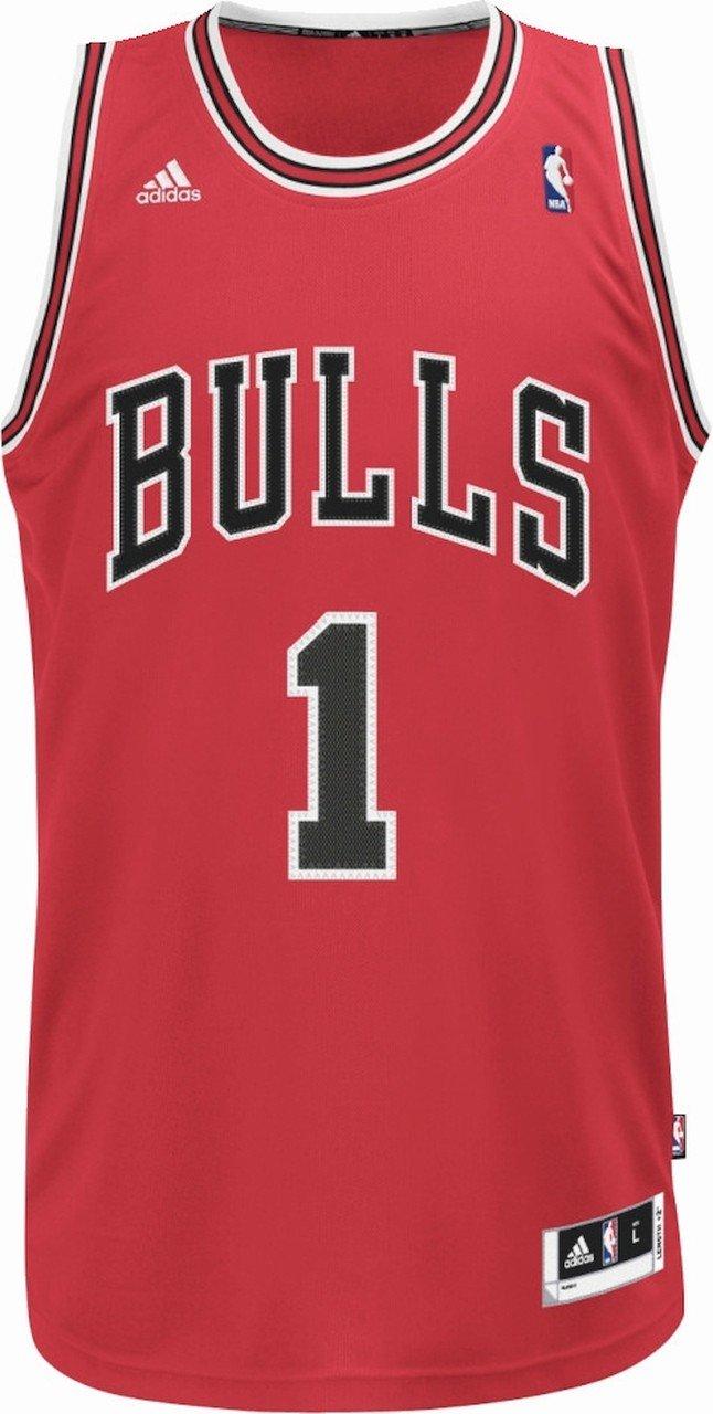 adidas Derrick Rose NBA Chicago Bulls Swingman Basketball Herren Trikot  Home XX-Small - - nba chicago bulls 1 -  Amazon.de  Bekleidung 6feb81ad5fa7