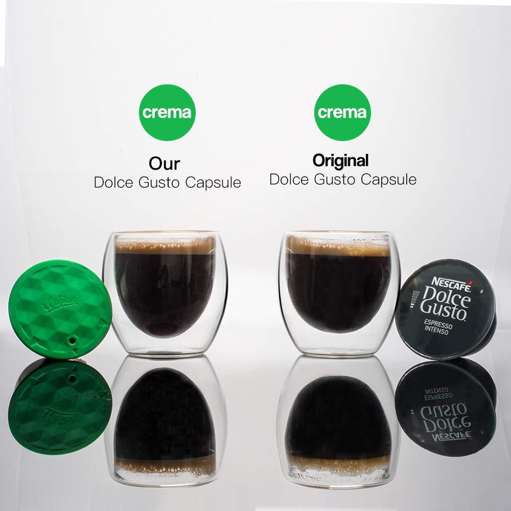 Amazon.com: i Cafilas - Cápsula de café recargable Dolce ...