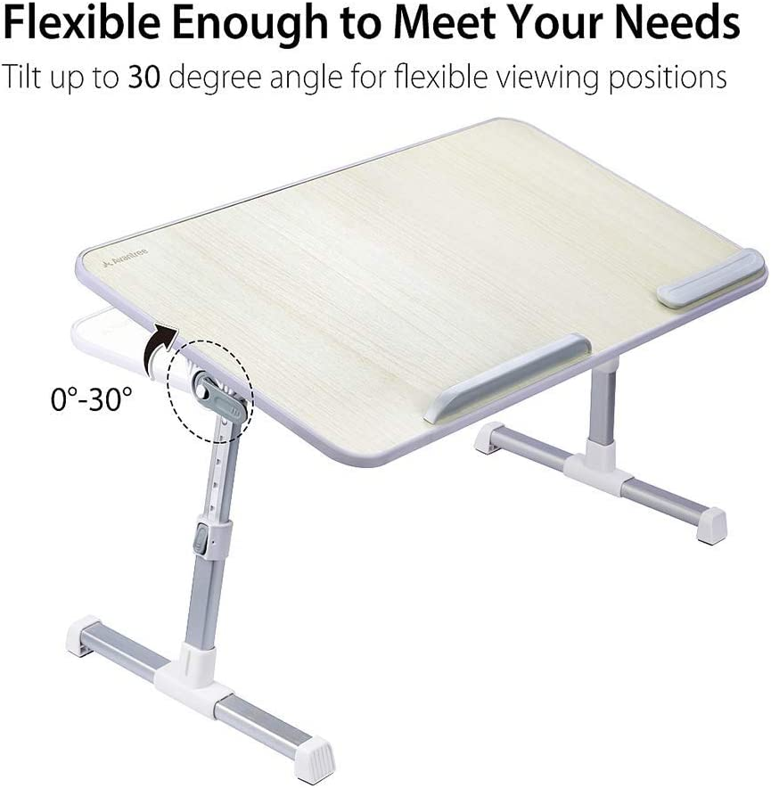 Notebook Stand Reading Holder Size : Large BETTY Tables Adjustable Laptop Bed Table Foldable Sofa Breakfast Tray Portable Standing Desk