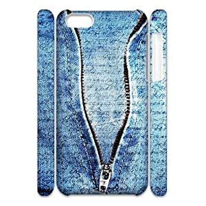 linJUN FENGDenim 3D-Printed ZLB564967 Personalized 3D Phone Case for ipod touch 5