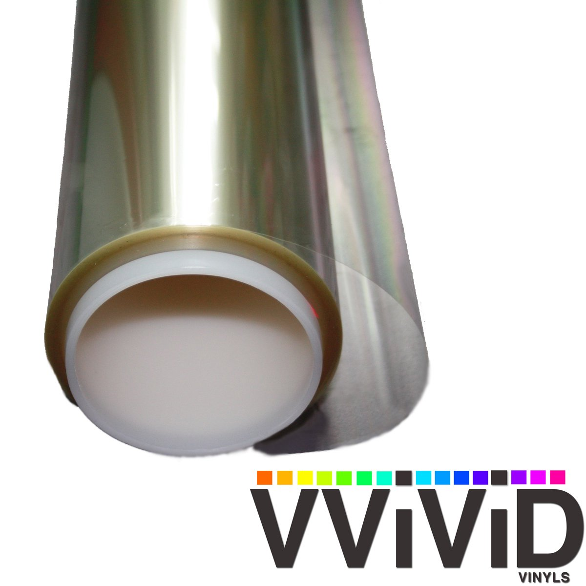 VViViD Clear Protective 4mil Vinyl Window Glass Wrap Shatterproof Security Film Roll (60 Inch x 60 Inch) by VViViD
