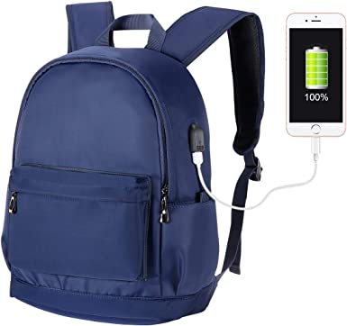 Men Business Backpack Laptop Waterproof Unisex School Rucksack Hiking Travel bag