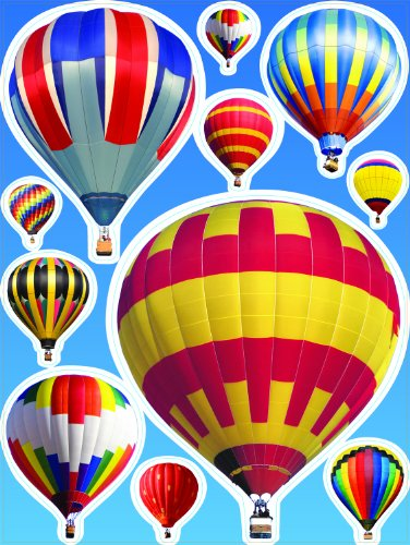 Free Eureka Hot Air Balloons Clings