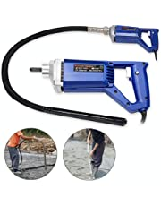 Hand Held Concrete Vibrator 1 HP 750W Electric 13000 Vibrations per Minute(750 W)
