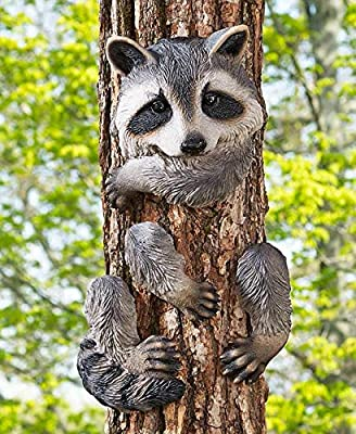 Knl Store Whimsical Animal Tree Hugger Outdoor Decor Yard Garden