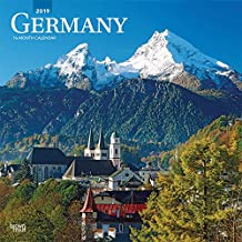 Germany 2019 Square Wall Calendar