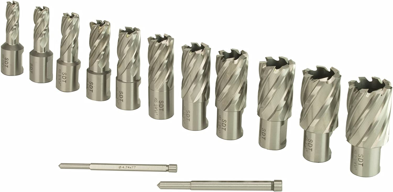 Steel Dragon Tools Cheap mail order Super special price sales 13pc. High Kit Speed Cutter HSS Annular