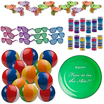 Bulk Pool Party And Beach Favors Toys For Kids Pack Of 49 Summer Fun Set