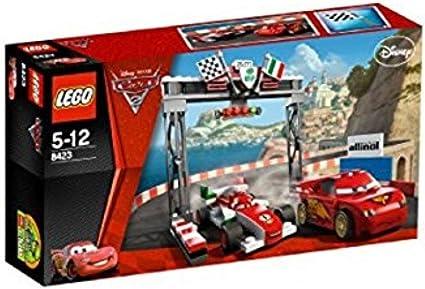 Amazon Com Lego Disney Pixar Cars 2 World Grand Prix Racing Rivalry 8423 Toys Games