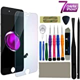 iPhone 7 Screen Replacement, LCD Touch Screen Kit Digitizer Frame Assembly Set for iPhone 7 Black