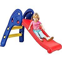 Safeplus Kids Indoor Folding Slide, Strudy & Safe Toddler Climber Freestanding Sliders Play Toys for Little Ones Baby…