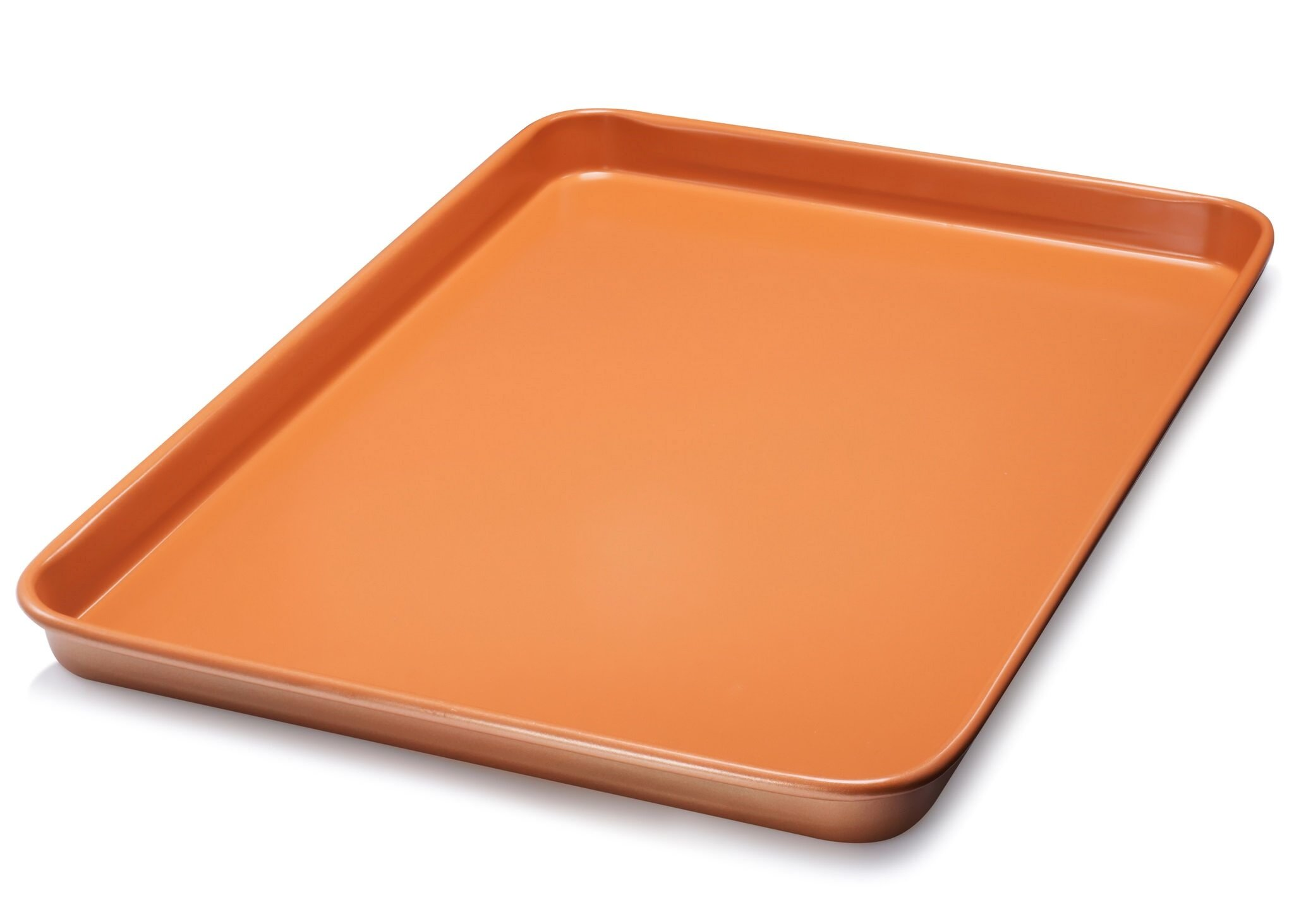 Gotham Steel Nonstick Copper Cookie Sheet and Jelly Roll Baking Pan 12'' x 17'' – 1 PACK