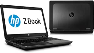 "HP ZBook 15 G2 Intel Core i7-4810MQ X4 2.8GHz 8GB 256GB SSD 15.6"" Win10, Black"