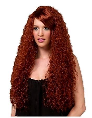 70d4c52f4 Amazon.com : Blush NOVA Fantasy Style Synthetic Wig Henna Red : Beauty