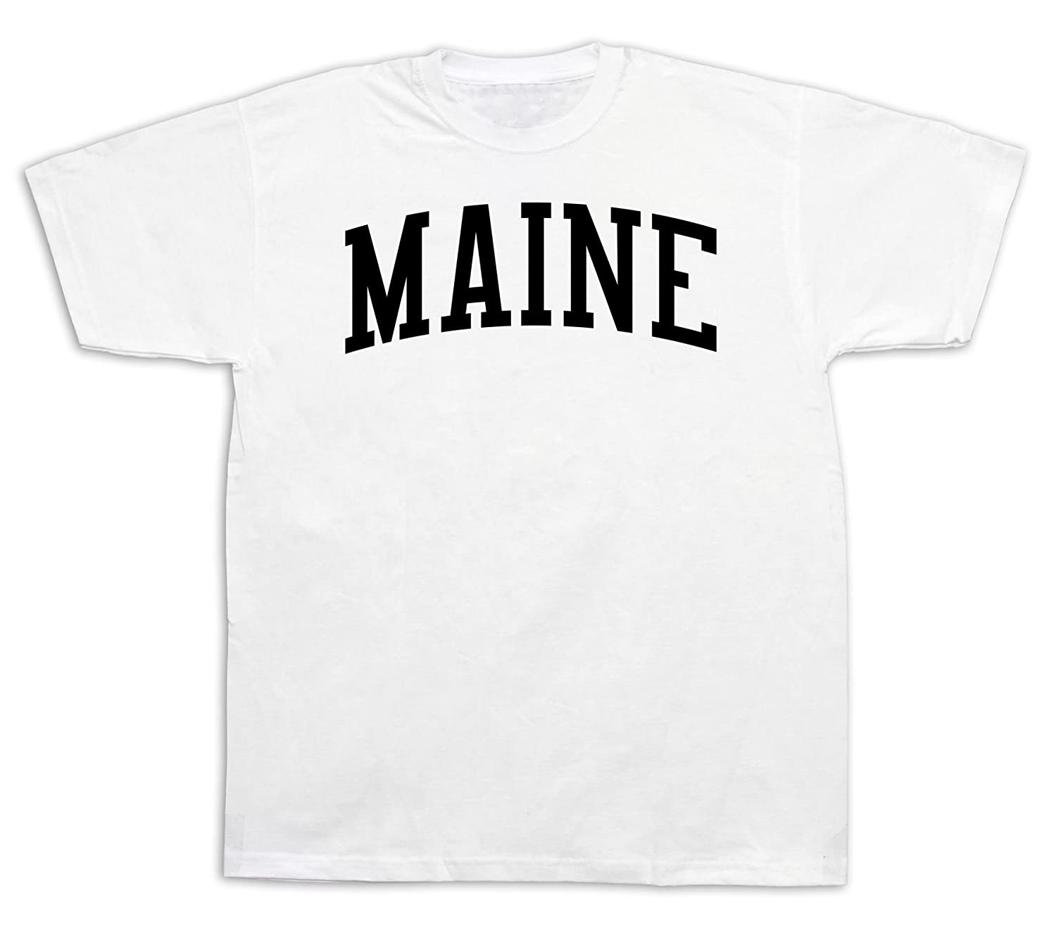 Maine Vacationland Pine Tree State ME TSHIRT Proud Coon Apparel classic knows
