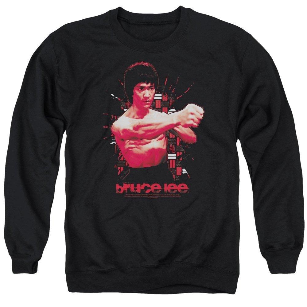 The Shattering Fist Adult Crewneck Sweatshirt Bruce Lee