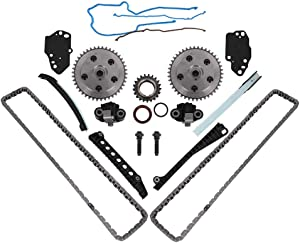5.4 3V Triton Engine Timing Chain Kit, Camshaft Drive Phaser Repair Kit, Fit for 2005-2010 Ford F150 F250 F350 Super Duty, Expedition & Lincoln Navigator, Mark LT