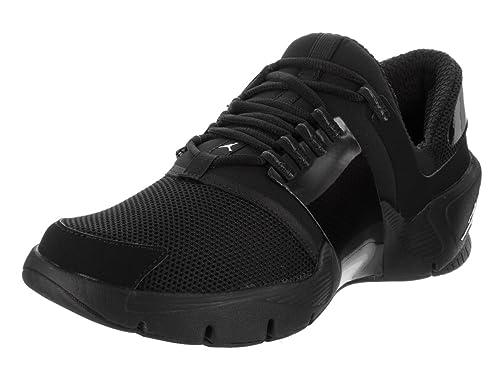 e6ae1052816ca Jordan Nike Zapatillas de Entrenamiento Alfa Trunner 9 de EE.UU. Hombre  Negro Negro Blanco 9 D (M) US  Amazon.es  Zapatos y complementos