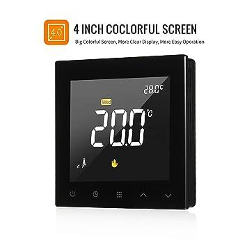 Amazon.com: Control de temperatura, KKmoon WIFI termostato ...