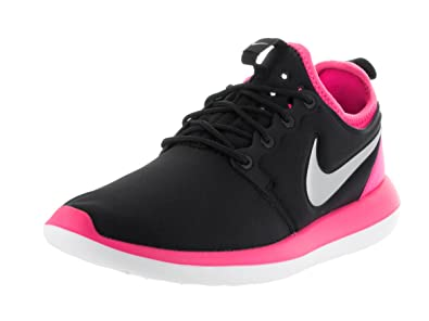 brand new 54a2e acb3a Nike Roshe Two (GS), Women s Running Shoes, Black (Black   Platinum