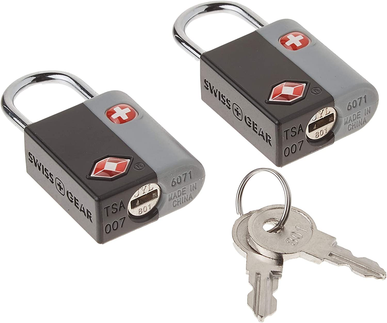 SwissGear TSA-Approved Travel Luggage Locks