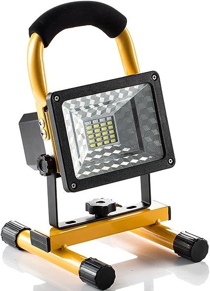 Lampada da lavoro a LED Lampada Esterno Luci di Pesca Campeggio led Ricaricabile