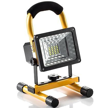 ef4cb743c Foco LED Proyector, Lámpara Camping 15W, Foco LED Reflector para Trabajo  Exterior, Lámpara Proyector LED, ...
