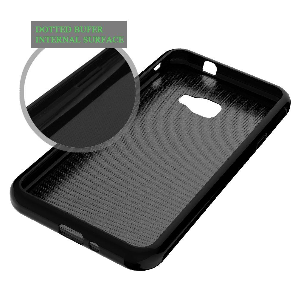Compatible con Galaxy Xcover 4 Ultra Delgado Fina TPU Gel Goma Suave Piel de Silicona Anti ara/ñazos Funda Protectora Case Cover LK Funda para Galaxy Xcover 4